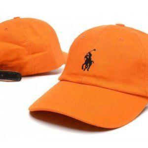 Polo Pony Hat Orange